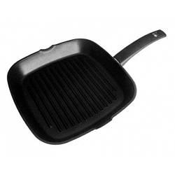Сковорода-гриль антипригарная Talko 26 x 26 см черный