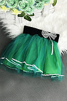 Юбка детская зеленая размер 2XL ABC 807