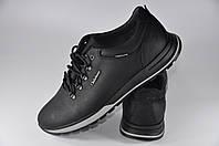 Кроссовки кожаные Club Shoes 19-29 Черные Размеры 40-45