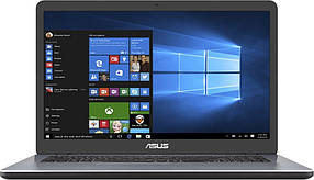 "Ноутбук Asus X705UB-BX355 (90NB0IG2-M04160); 17.3"" (1600x900) TN LED матовый / Intel Core i3-6006U (2.0 ГГц) / RAM 8 ГБ / HDD 1 ТБ / nVidia GeForce"