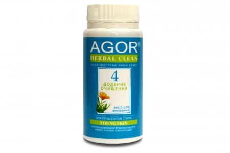 Ежедневное очищение №4 для проблемной кожи, Agor, 65 г