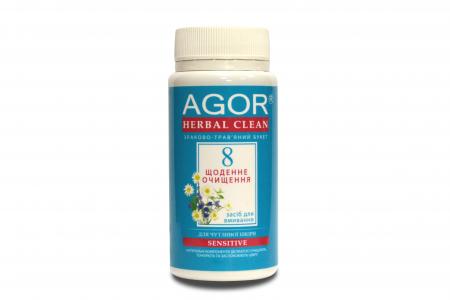 Ежедневное очищение №8 для чувствительной кожи, Agor, 65 г