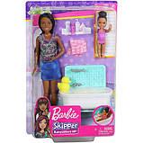 Barbie Барби сестры Шкипер няня время купаться FXH06 Skipper Babysitters Inc. Bathtime Playset, фото 2
