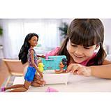 Barbie Барби сестры Шкипер няня время купаться FXH06 Skipper Babysitters Inc. Bathtime Playset, фото 5