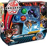 Bakugan Battle Planet Набор из 5 бакуганов 6054981 Darkus Hydorous and Aurelus Gargarnoid, фото 5
