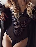 Эротическое белье Сексуальное белье. Эротическое боди. Эротический комплект белья.(38 размер Размер XS), фото 4
