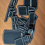 Килимок для Honda Accord X 10 10th MK10 противогрязевой гелевий гумовий, фото 3