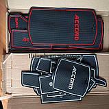 Килимок для Honda Accord X 10 10th MK10 противогрязевой гелевий гумовий, фото 4