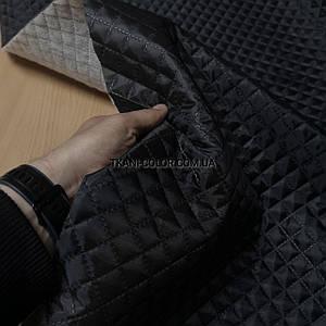 Підкладка стьобаний на синтапоне, паянка чорна