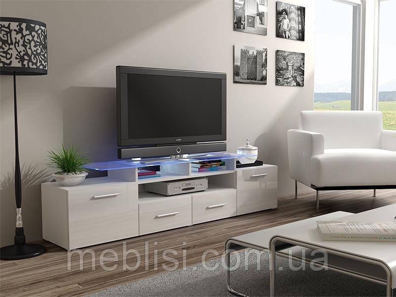 ТВ тумба EVORA 194 білий (CAMA)