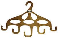 Вішалка HEGA для сумок і аксесуарів дерев'яна - ПЛЕЧИКИ - для аксесуарів, фото 1