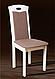 Стол обеденный, раздвижной, овальный из массива дерева -Твист (беж), фото 3