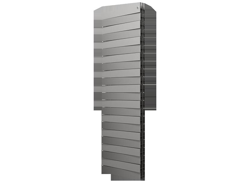 Радиатор Royal Thermo PianoForte Tower/Silver Satin  - 18 секций