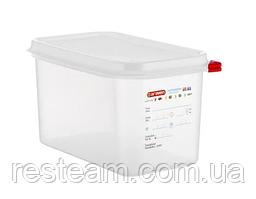 03028 Емкость для хранения с кр. Araven GN 1/4 (26,5х16,2х15 см) 4,3 л