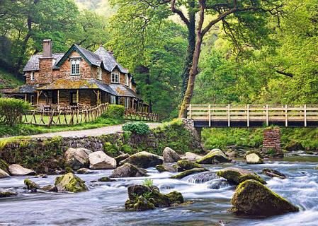 Пазлы Эксмурский национальный парк, Англия на 1000 элементов, фото 2