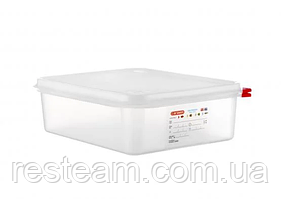 03033 Емкость для хранения с кр. Araven GN 1/2 (32,5х26,5х10 см) 6,5 л