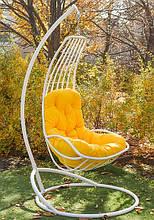 Підвісне садове крісло гойдалка кокон крапля куля Українські Конструкції Делі / Deli