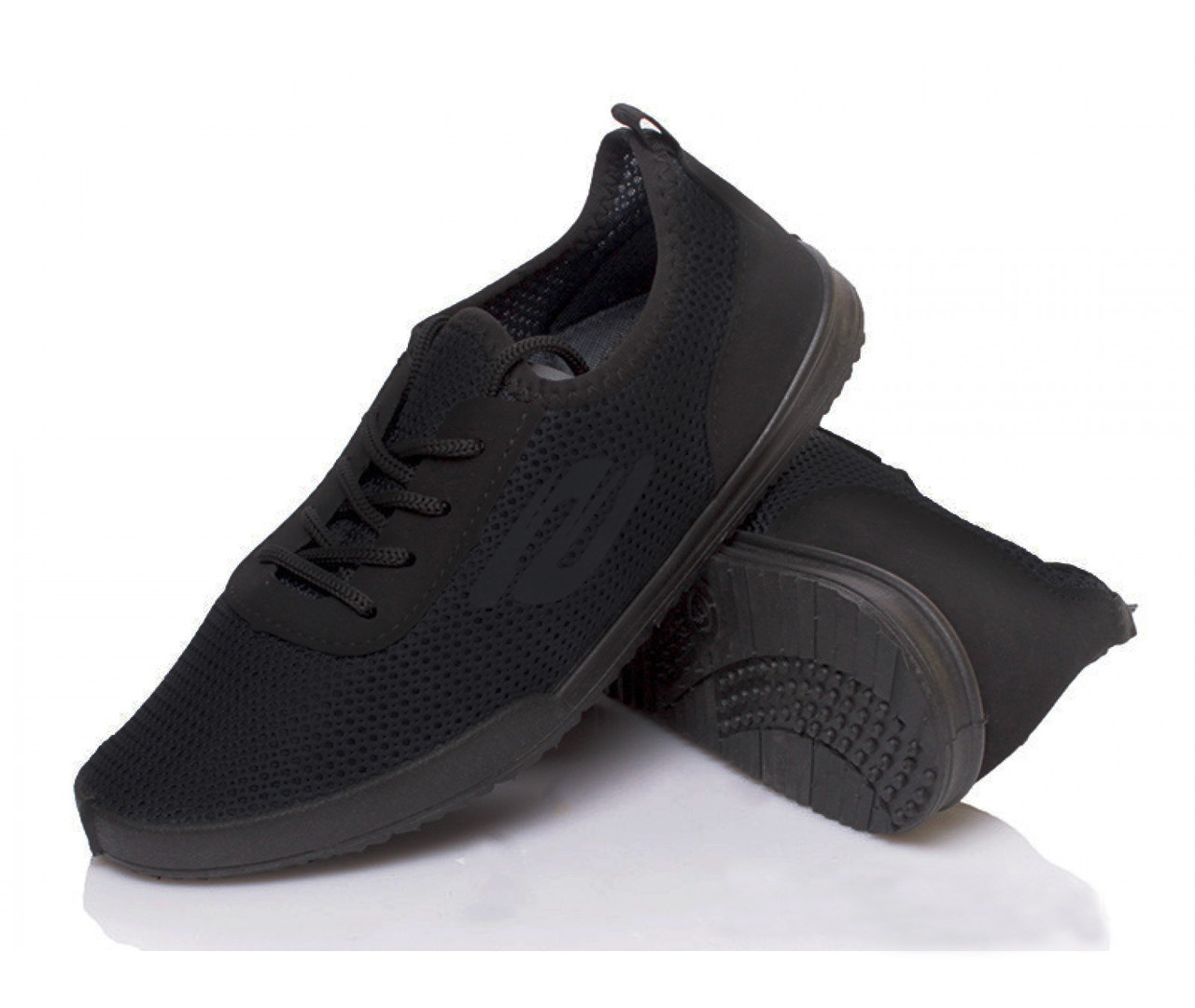 Кроссовки мужские PR-G черные летние сетка 45 р. 29,5 см (983188421)