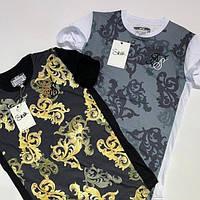 """Качественная мужская футболка """"Sik Silk"""", Турция (два цвета)"""