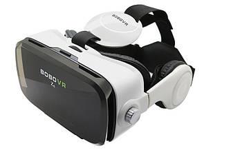 Очки виртуальной реальности 3D Bobo VR Z4 с пультом и наушниками White