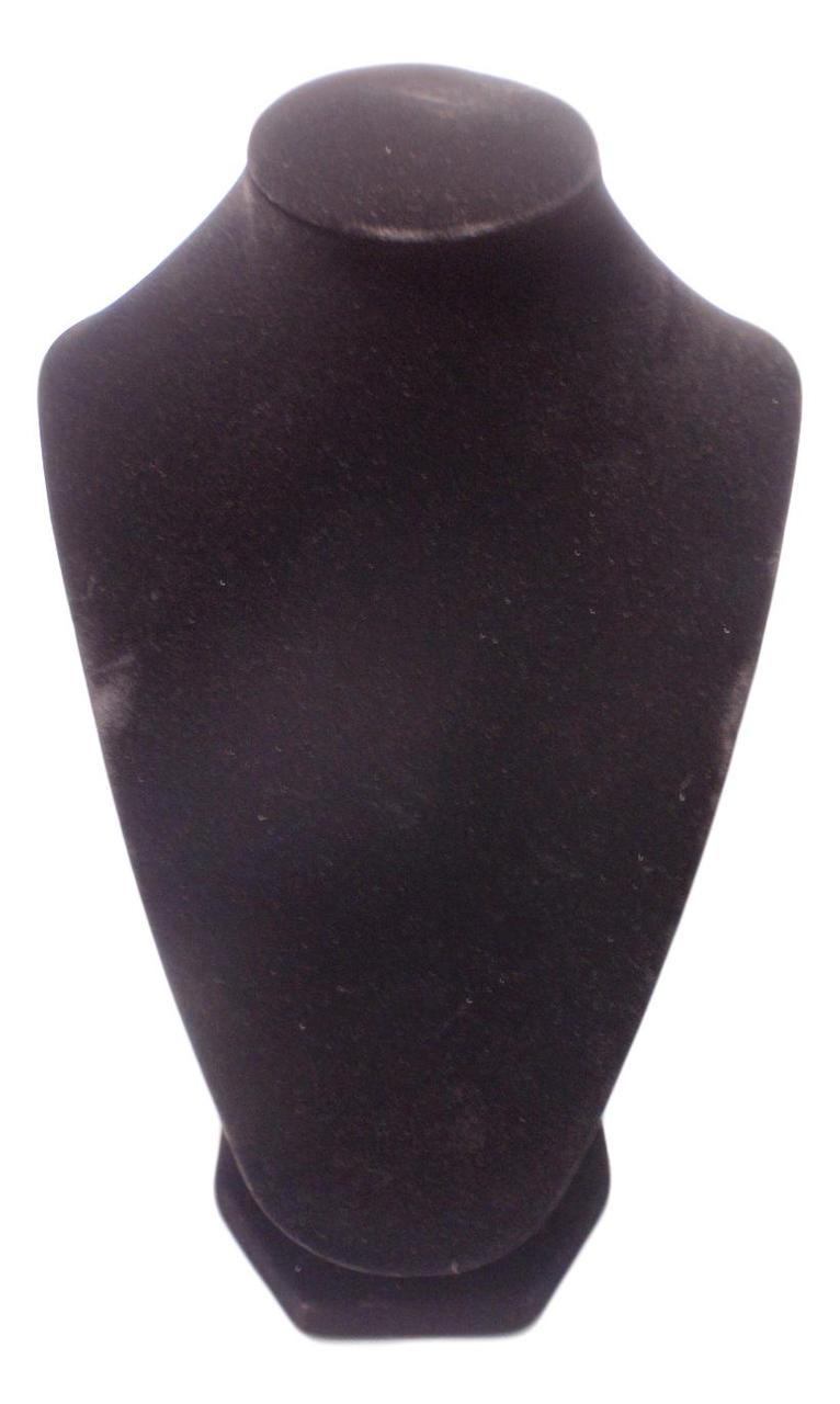 Подставка под колье, цепочки Черная  вшг 26х18х12 см