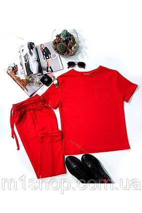 костюм женский Modus Мови трикотаж двунитка прогулочный костюм 9175, фото 2