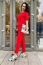 костюм женский Modus Мови трикотаж двунитка прогулочный костюм 9175, фото 3