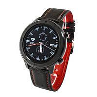 Смарт-часы NO.1 DT78 Leather Band Black