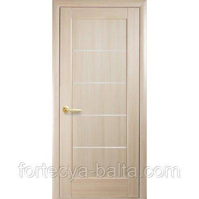 """Межкомнатные двери """"Мира"""" ПВХ цвет - ясень"""