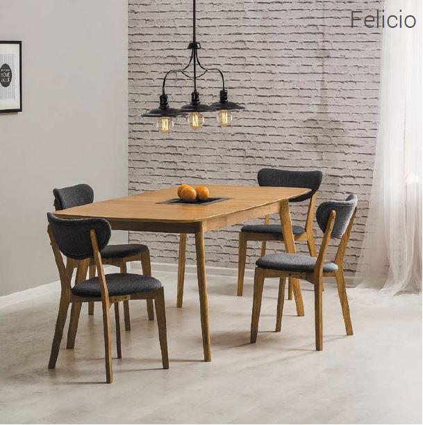 Стол раскладной Felicio Дуб