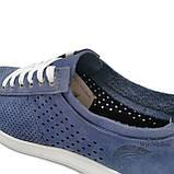 Туфли кеды мужские Maxus indi кожа, фото 7