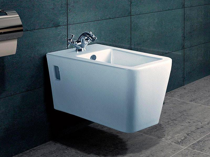 Биде подвесное NEWARC белый Aqua 9443W