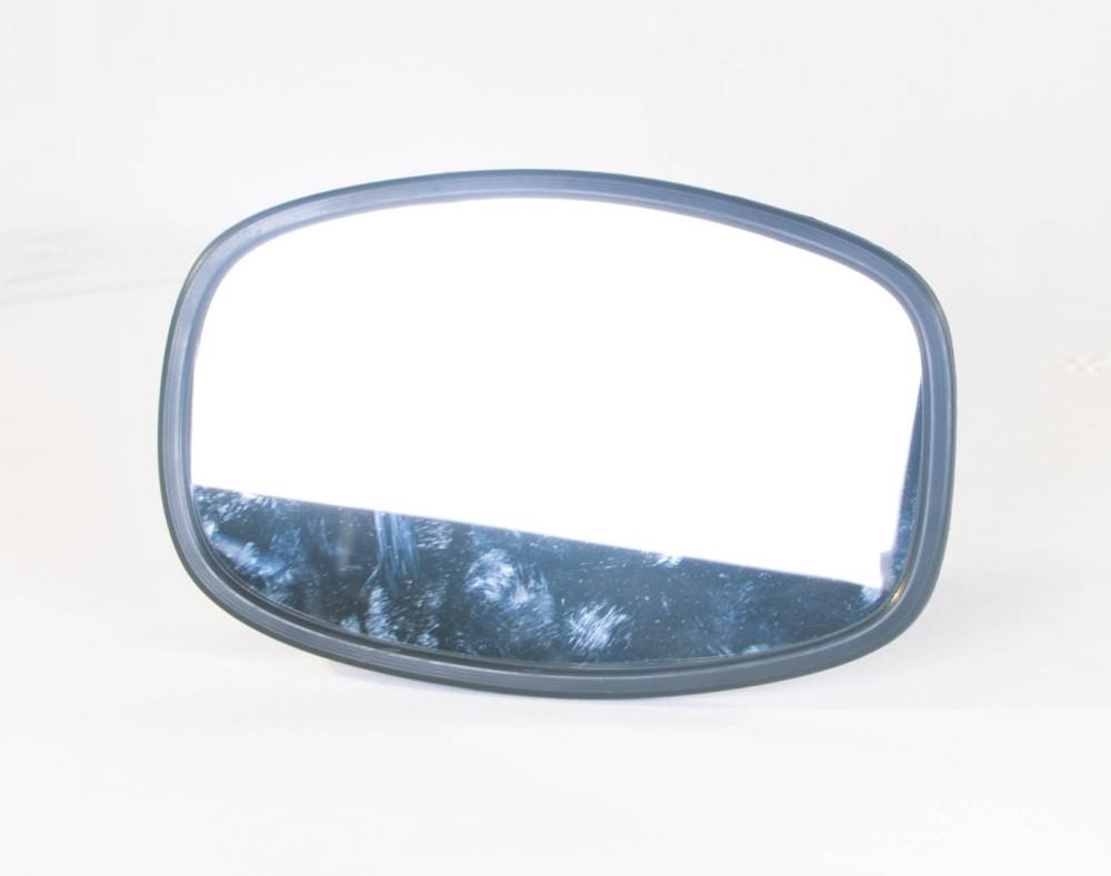 Зеркало боковое УАЗ 452 250х160 плоское пластиковый корпус (производство Россия) (арт. 452-8201020-П1),