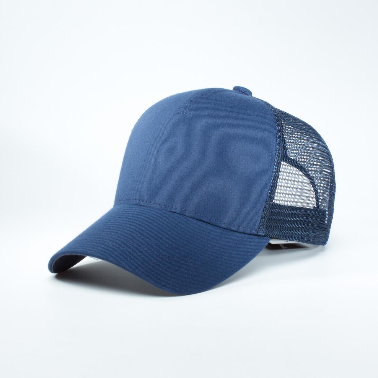 Детская кепка с сеткой тракер INAL 5 панелей XS / 51-52 RU Синий 253351