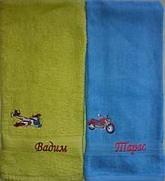 Полотенце подарочное с вышивкой Имена