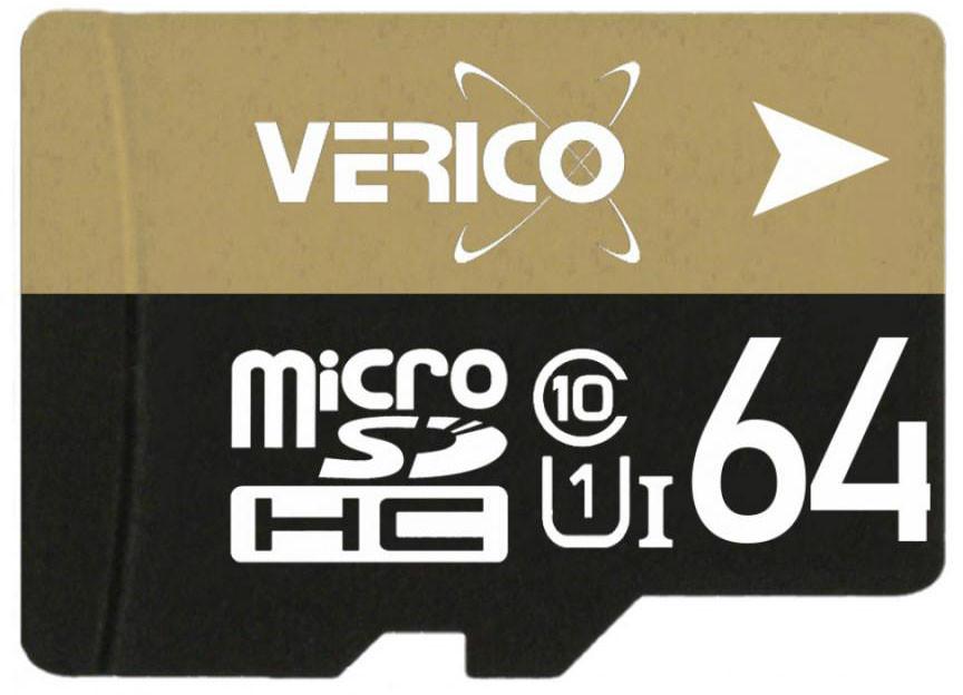 Карта памяти Verico MicroSDHC 64GB Class 10