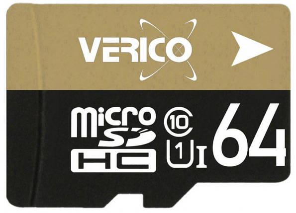 Карта памяти Verico MicroSDHC 64GB Class 10, фото 2