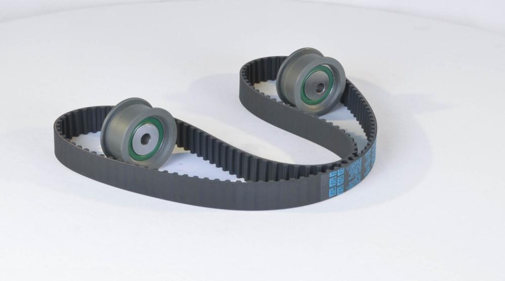Ремень, ролики ГРМ (комплект) ВАЗ 2110, 2111, 2112 16V (производство DAYCO) (арт. KTB462), rqb1qttr