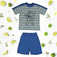 Костюм детский шорты, футболка, для мальчика