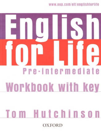 English for Life Pre-Intermediate Workbook with key, фото 2
