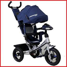 Триколісний велосипед Crosser One T1 AIR синій