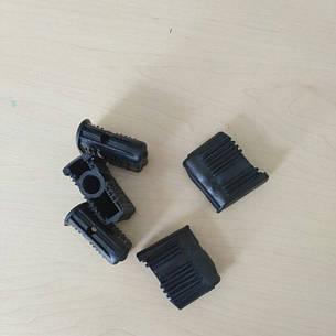 Заглушки для офисных кресел под ролики 10мм. (50 шт), фото 2