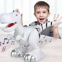 """Детская игрушка робот """"Динозавр"""" ходит и танцует на батарейках"""