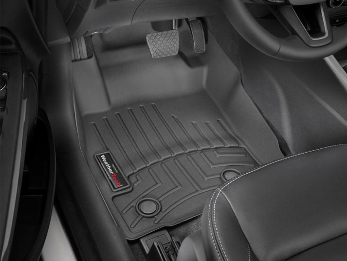 Ковры резиновые WeatherTech  Ford EcoSport 2013+ передние черные