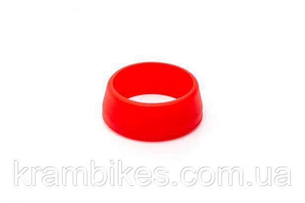 Силиконовое кольцо для защиты подседела (30-34mm) от влаги RISK Красный