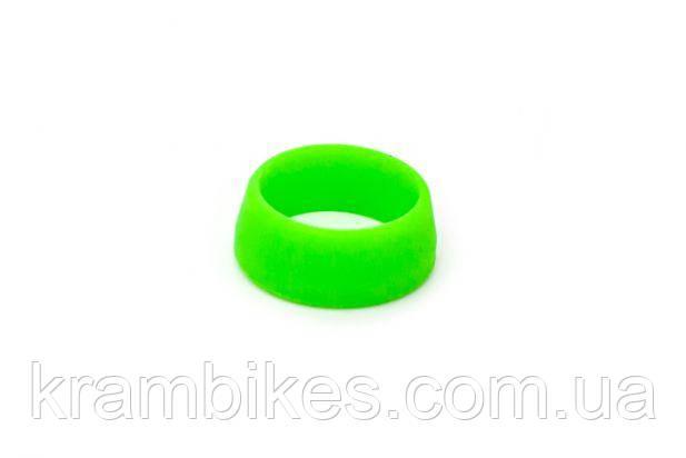 Силиконовое кольцо для защиты подседела (30-34mm) от влаги RISK Салатовый