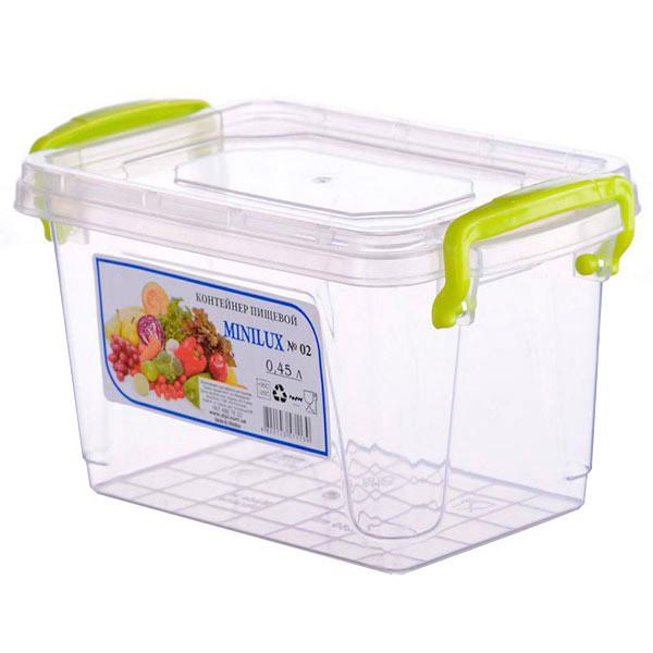 AL-PLASTIK MiniLux Харчової контейнер з ручками 0.45 л