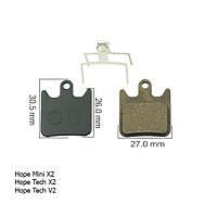 Тормозные колодки Hope Mini X2 / Hope Tech X2 / Hope Tech V2