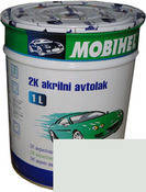 233 Белая автоэмаль акриловая Mobihel, 0,75 л. цена без отвердителя