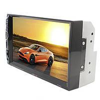 "Автомобильная 2 DIN магнитола HEVXM HE 888 сенсорный Full HD экран 7"" MP5 FM radio USB AUX microSD, фото 2"